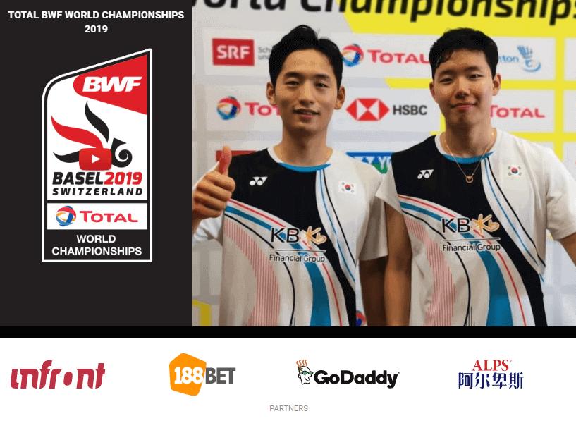 188Bet tài trợ BWF World Championships 2019