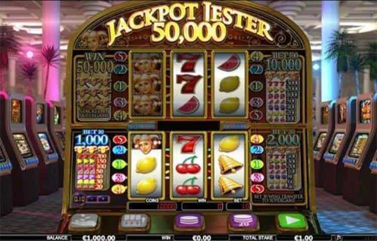trúng jackpot slot games