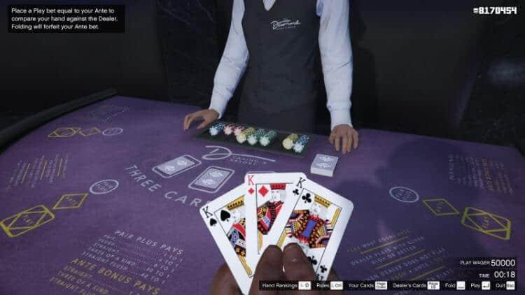 chơi win three cards online 188BET