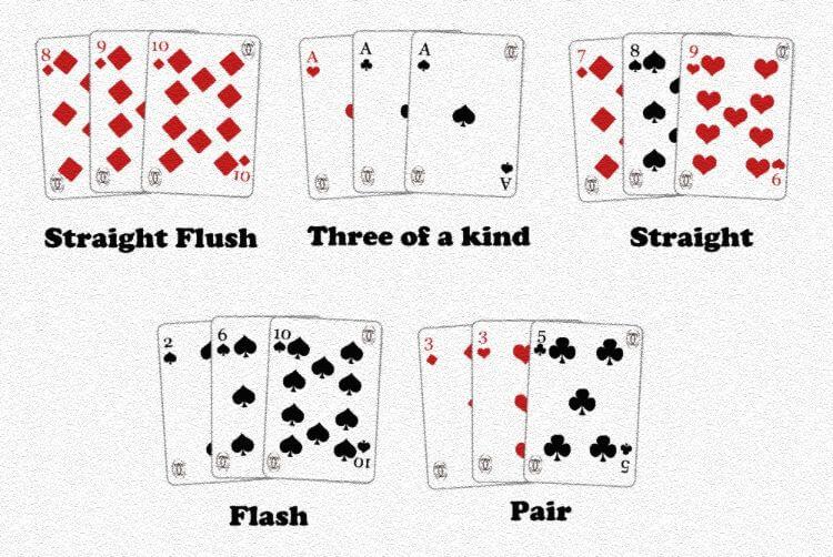 cách tính điểm win three cards 188BET