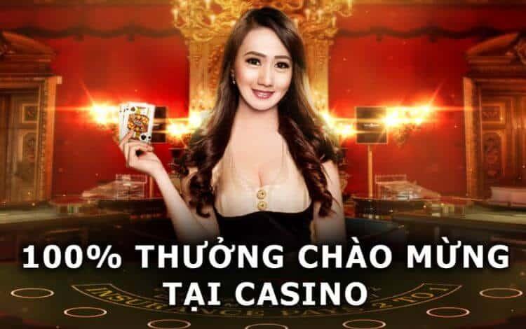 thưởng chào mừng casino