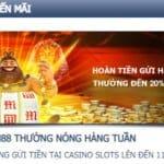 khuyến mãi casino slots m88