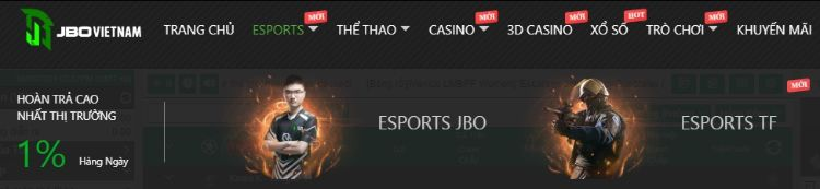 esports JBO