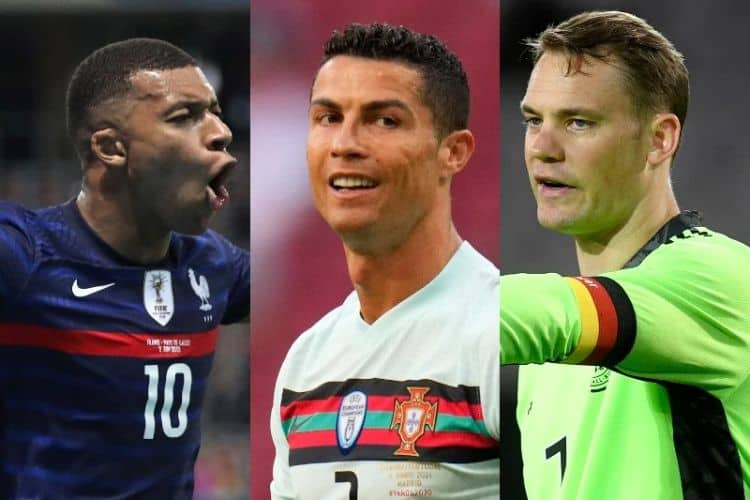 Bảng tử thần Euro 2021