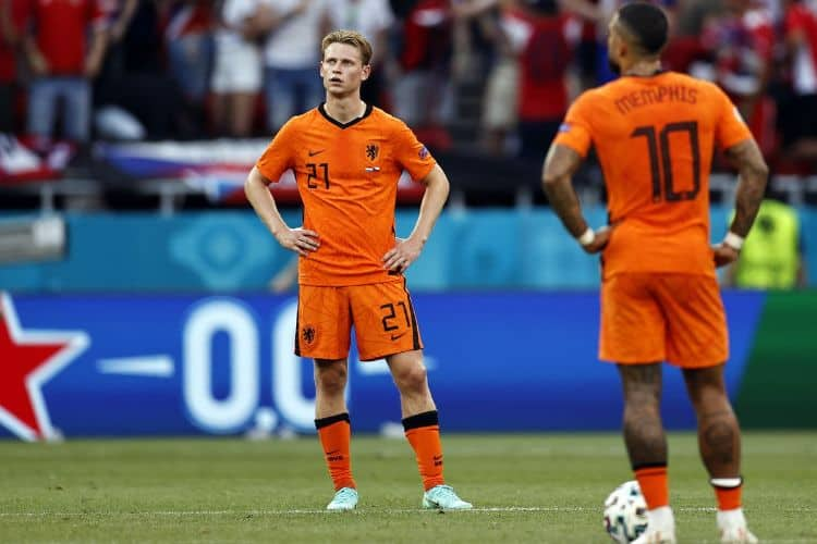 Hà lan bị loại Euro 2021