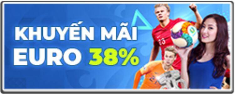 12bet khuyến mãi euro 38%