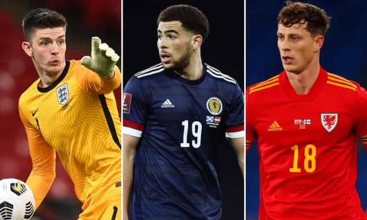 tuyển anh scotland xứ wales euro 2021