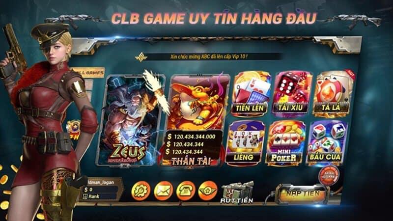 Hệ thống game bài tại BK8