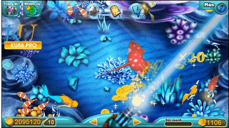 Thiết kế game bắn cá